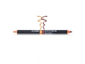 EF Studio Glitter Eye Pencil Duo (Καφέ_Χρυσό)