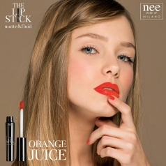 Nee The Lipstick Matte&Fluid n.47 (Ματ+Υγρό Κραγιόν-Orange Juice)