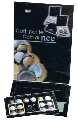 Nee plex expo eyeshadow cotti+tester