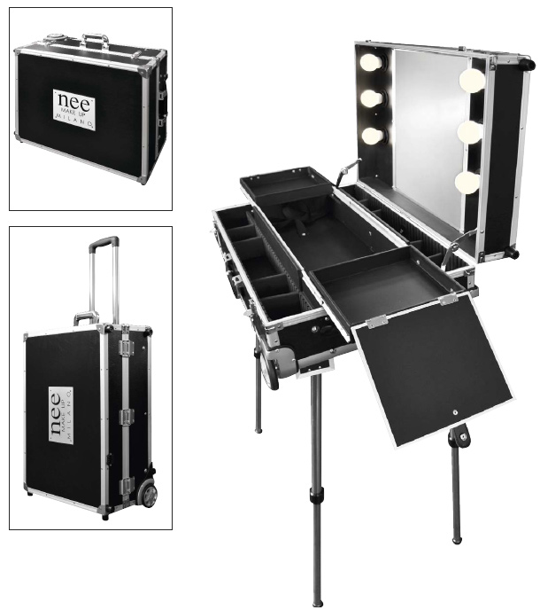Nee make-up stand with lights